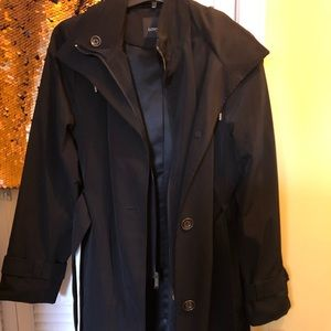 New Women's London Fog Trench Coat Size M